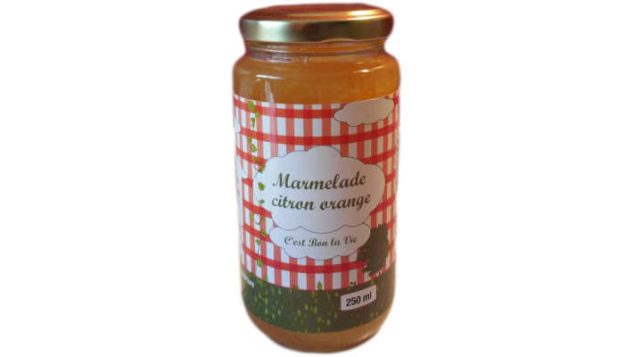 Marmelade Citron et Orange - 250 ml